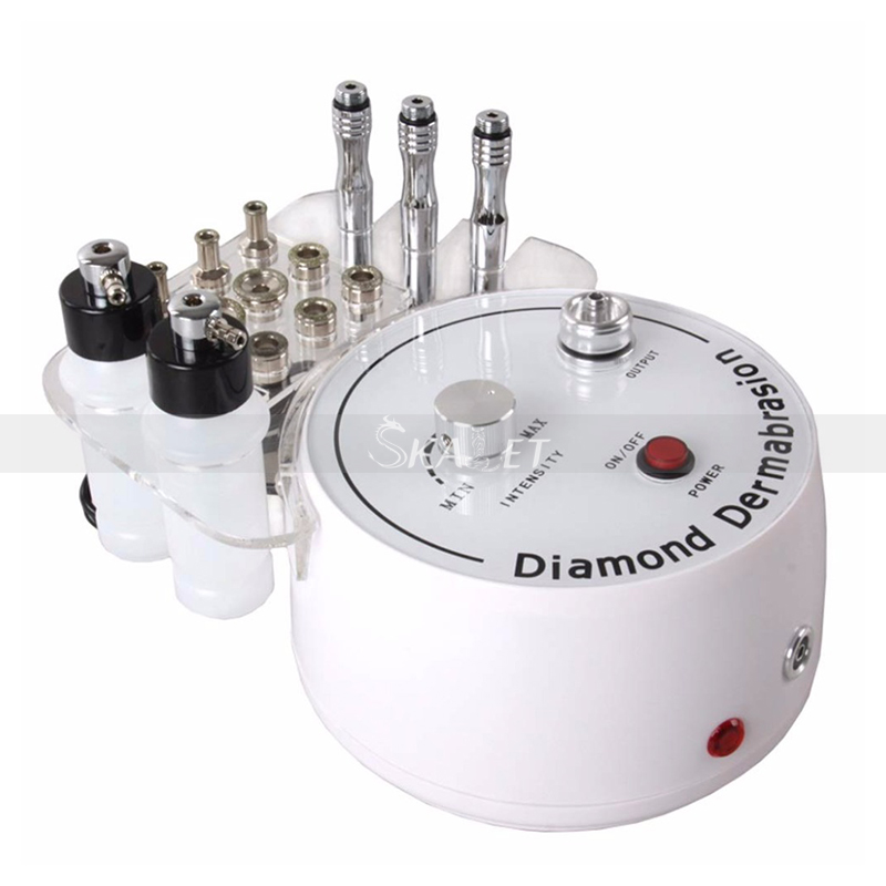 Hottest 3 In 1 Diamond Microdermabrasion Machine Skin Lifting Exfoliating Beauty Machine Wrinkle Removal With Best Effects
