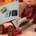 Mini Sumilation Book Doll Accessories For BJD Blyth Azone Licca Barbi Dolls Accessories