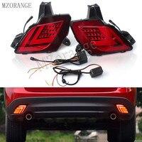 MZORANGE LED DRL Rear Rear Bumper Light For Mazda CX 5 CX5 CX 5 2013 2016