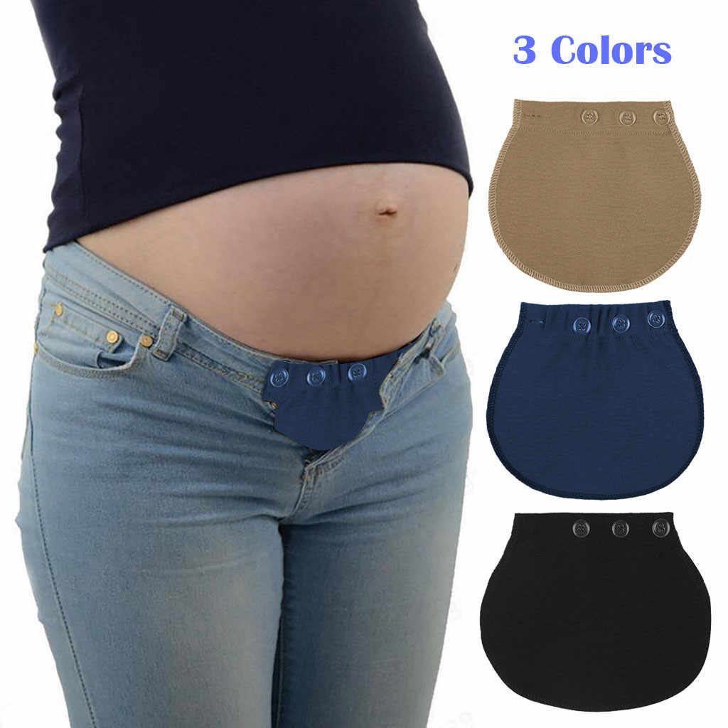 2019 Maternity pregnancy accessories Support  Waistband Belt Extender Adjustable Elastic Pants Waist maternity belt
