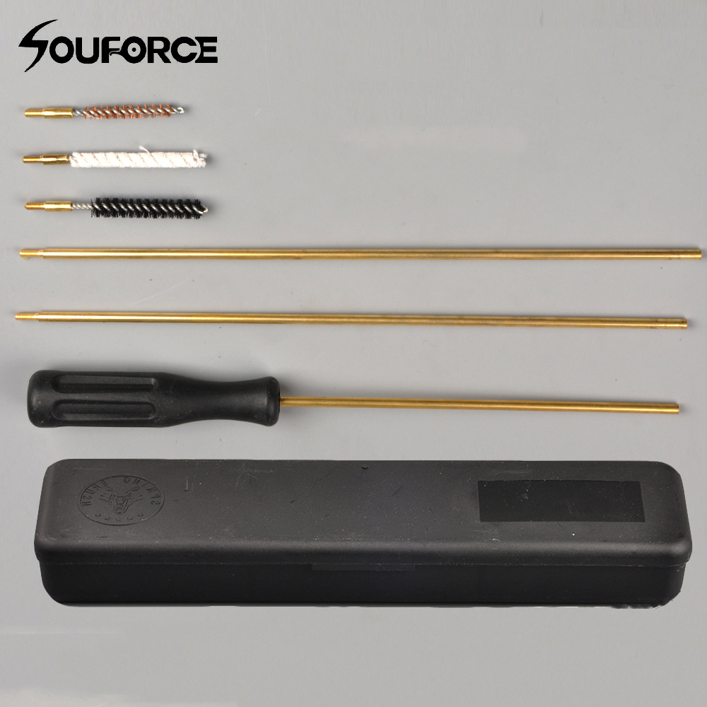 Cleaning Brush Kit .177(4.5mm) And .22 (5.5mm) Gun Cleaning Kit Accessory For Air Rifle/Pistol/Barrel/Scope Hunting