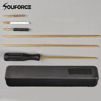 Kit brosse de nettoyage. 177 (4.5mm) et. 22 (5.5mm) Kit de nettoyage pistolet accessoire pour fusil à Air comprimé/pistolet/canon/portée chasse