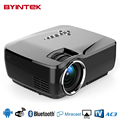 BYINTEK aM01p USBHome Inteligente Android 1080 P HD HDMI Video del Teatro Móvil Bluetooth teléfono LCD LLEVÓ el Mini Proyector Proyector Beamer