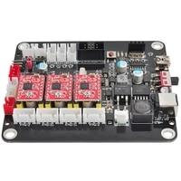 HLZS 3 Axis Cnc Controller Grbl Control Double Y Axis Usb Driver Board Controller Board For 3018 1610 2418 Cnc Engraver Carvin