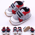 2016 Del niño del Bebé Primeros Caminante suaves del prewalker Zapatos de bebé niños recién nacidos bebe sapatos edad Nueva PU Suede antideslizante Deporte zapatos