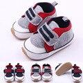 2016 Sapatas de bebê da criança Do Bebê Primeiros Caminhantes prewalker sola macia meninos recém-nascidos antiderrapante bebe sapatos idade Nova PU Camurça Esporte sapatos