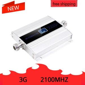 Image 2 - להקת 1 3G Ripetitore 2100MHz מהדר LCD WCDMA 2100 MHZ נייד אות מגבר אות בוסטרים/מגבר נייד טלפון מגבר