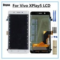 5,43 дюймов для естественных Xplay5 Xplay 5 X Play5 запчасть для цифрователя сенсорного ввода с ЖК дисплеем в сборе