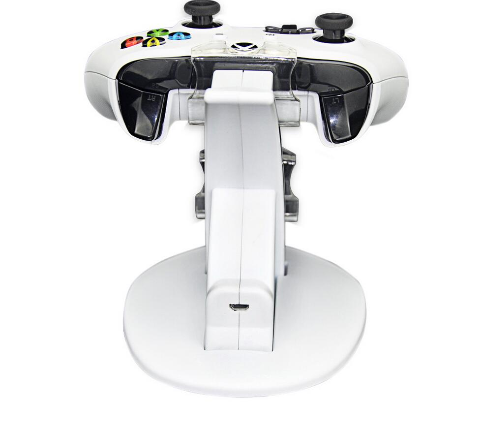 Microsoft Xbox One S Xbox One Slim Controller Dual Controller Charging Dock Station Charger Stand White