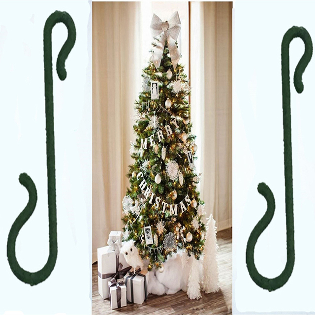 100pcs Christmas Ornaments Hooks Christmas Tree Decoration Pendants