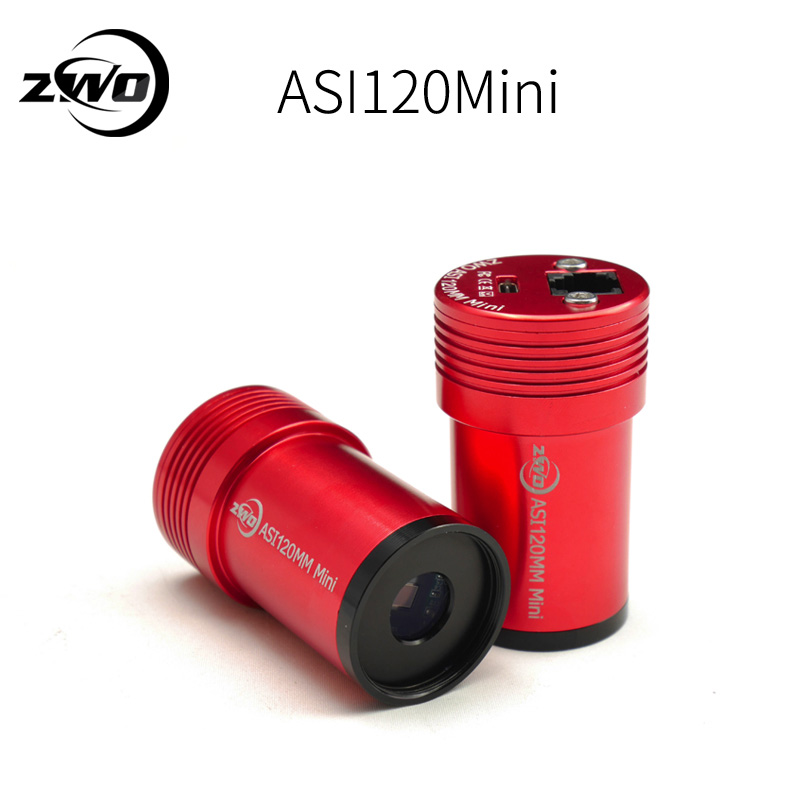 ZWO ASI120MM Mini (mono) USB 2.0 monochrome CMOS caméra pour l'imagerie planétaire et directeurs