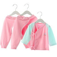 3 Pcs The Full Moon Baby Boy Girl Clothes High Quality Cotton Baby S Sets Long