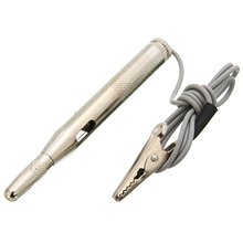 New DC 6V 12V 24V Probe Light System Test Lamp Auto Car Circuit Tester Voltage Pen Detector Copper