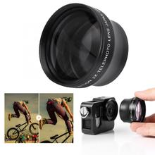 New 2X Magnification High Definition Converter Telephoto Lens for 37mm Mount Camera Converter