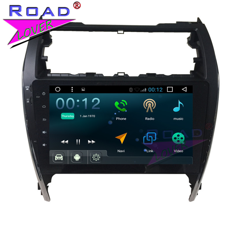 TOPNAVI Android 7.1 Quad Core 10.1Inch Car PC Head Uuit Player Video For Toyota Camry 2010 Stereo GPS Navi Magnitol <font><b>MP3</b></font> image