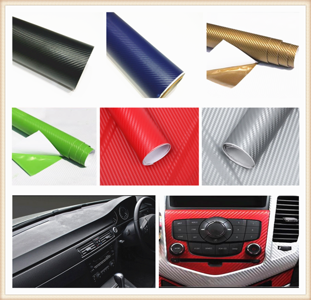 127cmx10cm car carbon fiber film waterproof DIY decoration for <font><b>Mercedes</b></font> Benz A-Class X-Class S65 S63 S600 S560e <font><b>A180</b></font> image