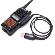 Baofeng cable de programa a prueba de agua + puerto USB de CD para UV 9R UV XR A 58 Plus UV 9R GT 3WP Walkie Talkie impermeable
