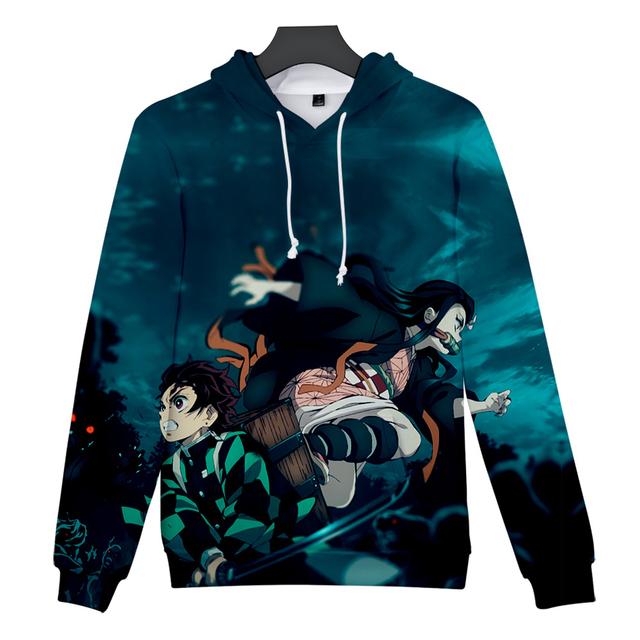 3D DEMON SLAYER THEMED HOODIE (11 VARIAN)