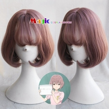 Movie Silent Nishimiya Shouko Child Girl Short Cosplay Wig Shape Voice Koe no Katachi