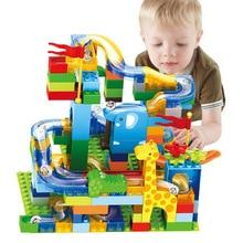 DIY House Roof Big Particle Building Blocks Castle Educational Toy for Children Compatible Slide Christmas цены