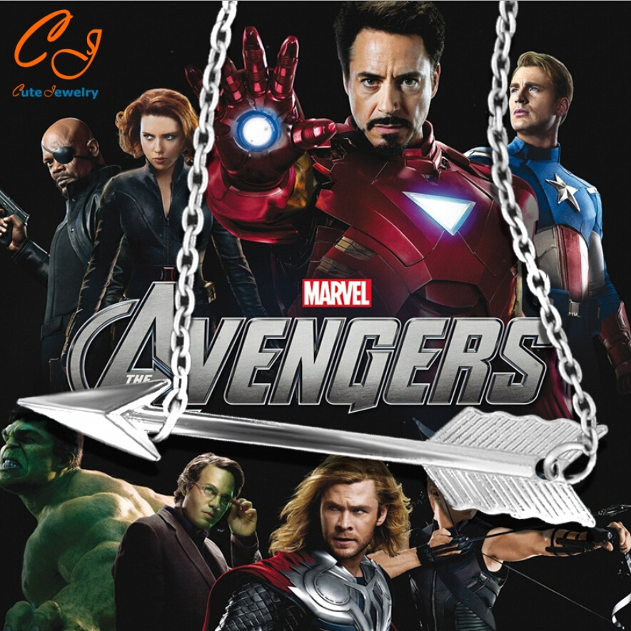 New 2016 Hot SellingThe new TV drama green Arrow <font><b>spiderman</b></font> logo <font><b>necklace</b></font> <font><b>pendant</b></font> <font><b>anime</b></font> peripheral factory direct sale wholesale