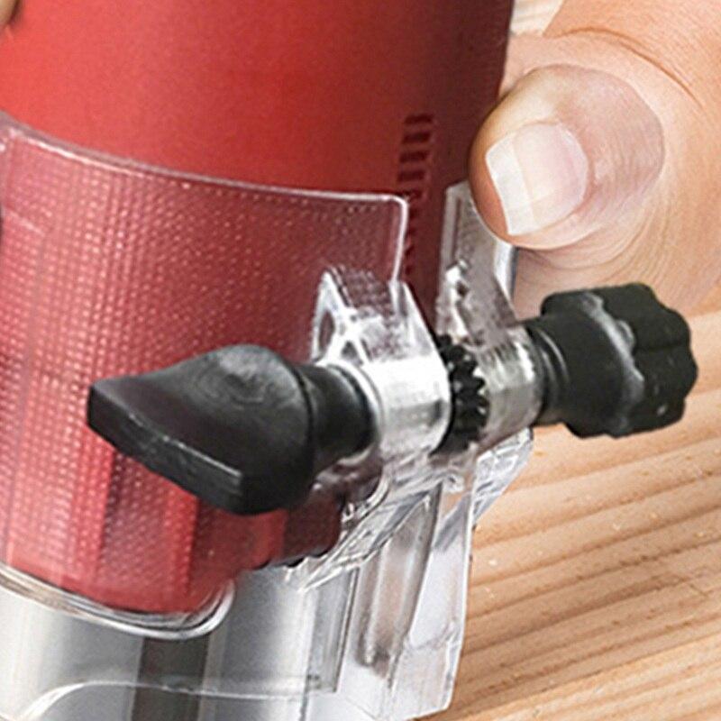 Machine de découpage de routeur de plastifieuse en bois électrique outil de travail du bois 220 v 800 w 30000 rpm tondeuse à main électrique précise pour outil en bois - 6