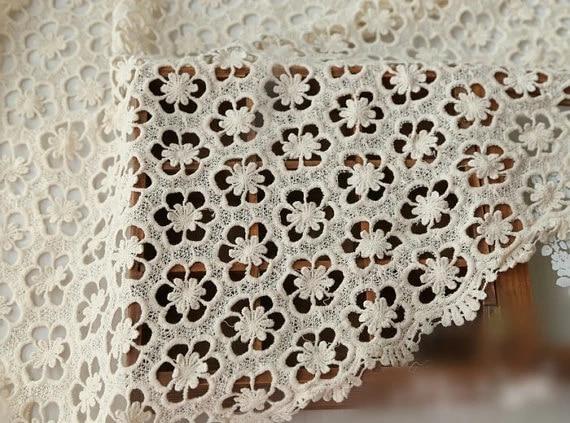 par mètre Crochet dentelle robe de tissu
