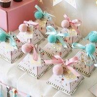20pcs/lot Lomantic Candy Box present box Wedding decoration for wedding creative paper box fashion Gift box & Wrapping Supplies