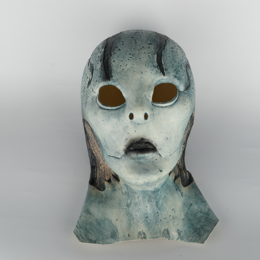 abe sapien Mask Anung Un Rama Hellboy Cosplay B.P.R.D. Helmet Fish Face Masks Funny Halloween Party Props (15)