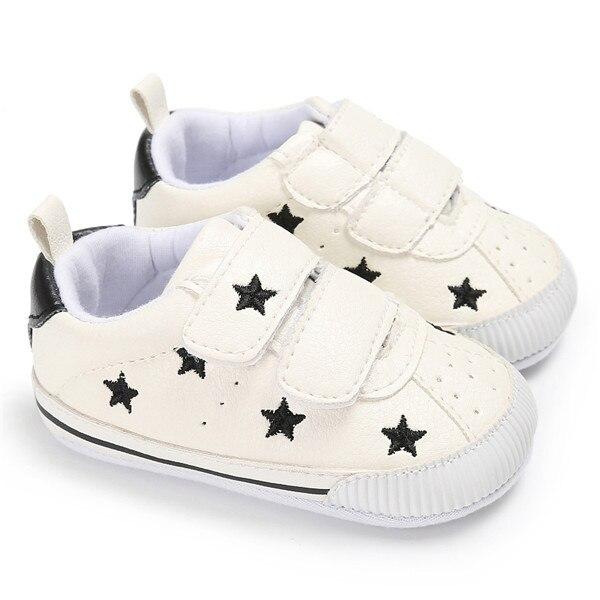 Cuir Étoiles Mou Bébé En Baskets Marque De Garçons Fond Chaussures wOqt5FHn