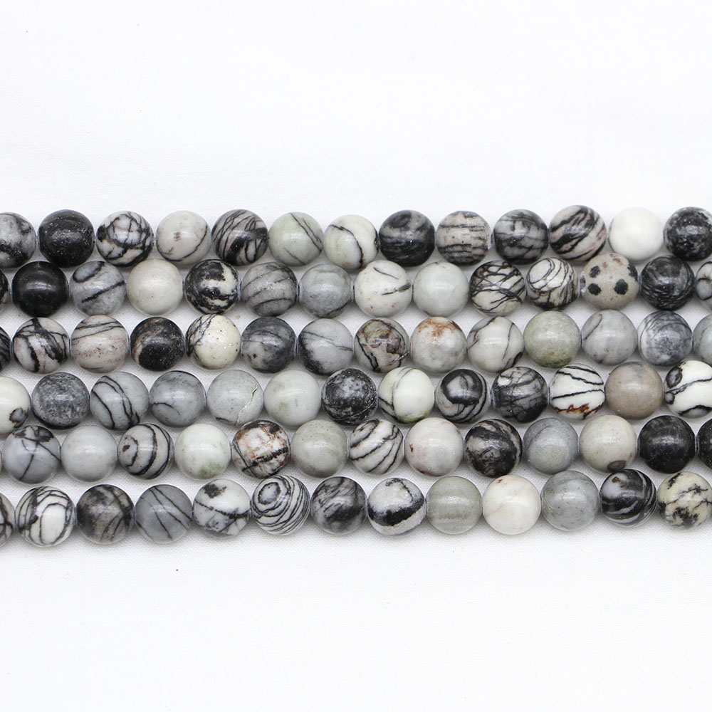 Glass Beads 6mm Mini Bumpy Spacer Beads for Jewelry Making 30 grams 45 pc Mix