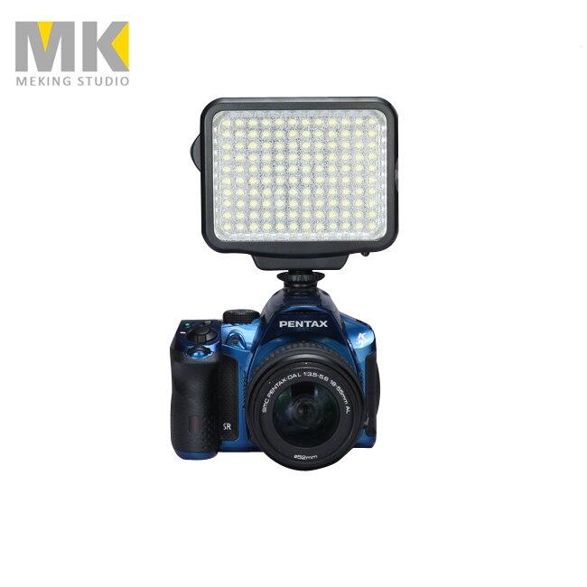 새로운 DBK VL-F120 LED-5009 12W 5600K / 3200K 캠코더 카메라 LED 라이트 패널 Vedio 사진 용 충전기 핸들