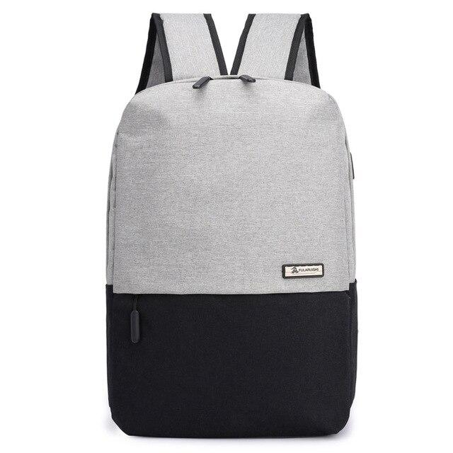 Hitam ransel pria tas ransel bisnis wanita backbag wanita back pack pria  notebook tas laptop bagpack 4a19618eb7