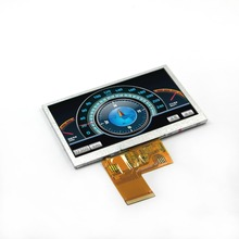 New 4.3 inch tft LCD screen (A) 480*272 resolution color for instrumentation, household appliances, electronic toys, etc.