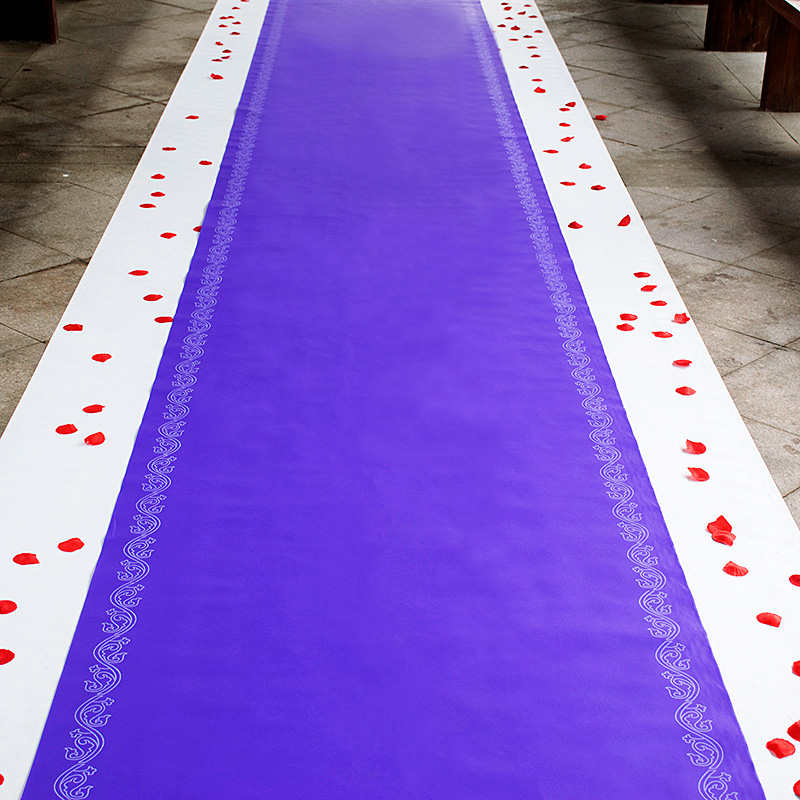 Purple Rug Runner Home Decor