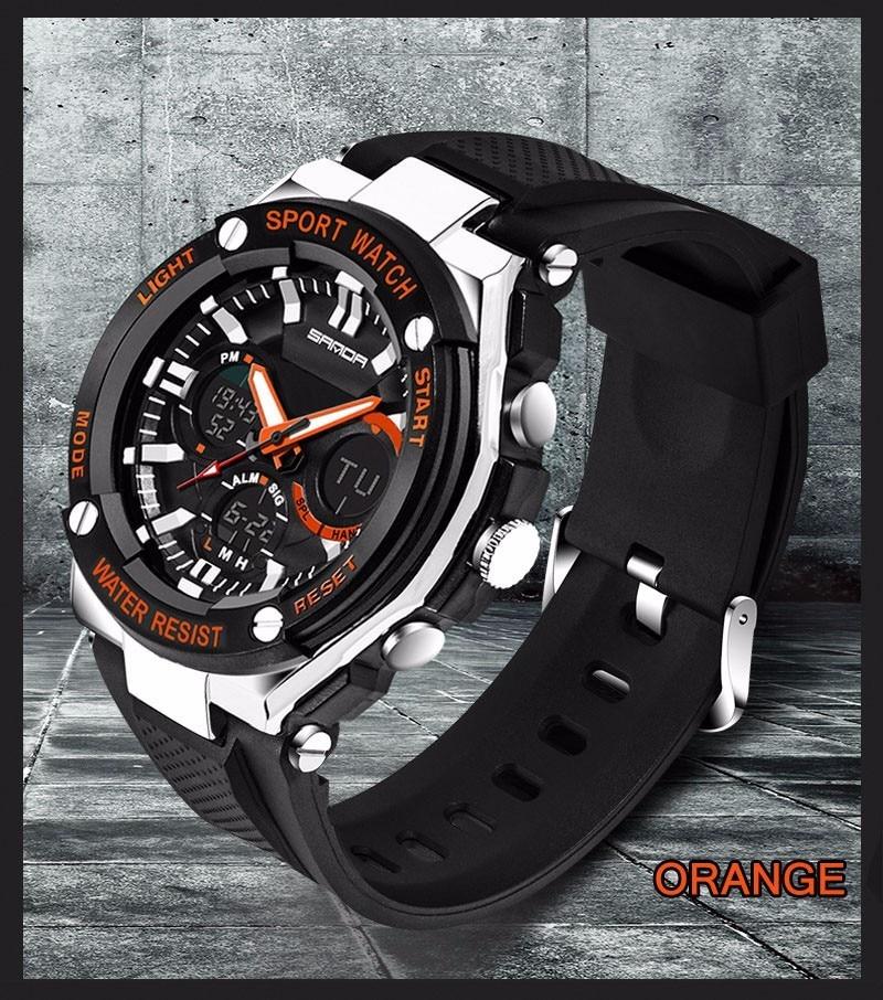 Men Sport Watch Waterproof Top Brand Luxury Military Watch LED Digital Quartz Wristwatch Relogio Masculino Reloj Hombre 2019 733 22