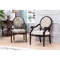Cheap king throne luxury solid wood banquet single chair furniture