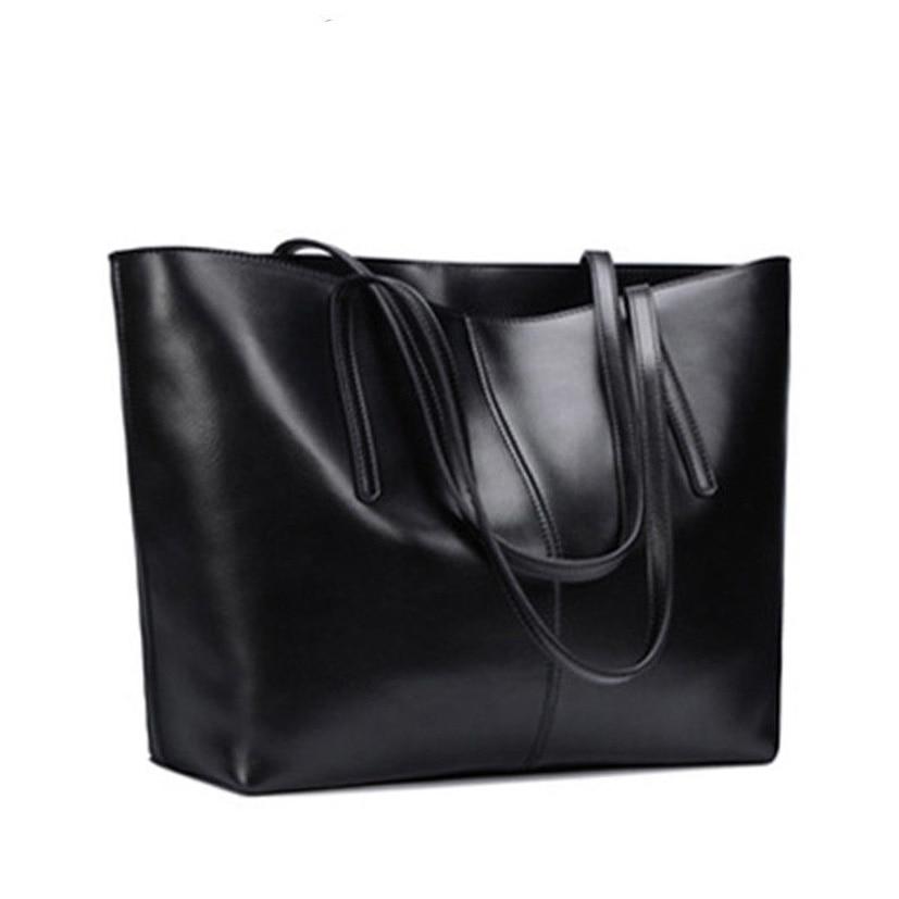 Womens Handbag Genuine Leather Shoulder Bag Big Tote Crossbody Hobo Messenger Bags big size new top fashion 1pc womens leather shoulder bag satchel handbag tote hobo messenger 100