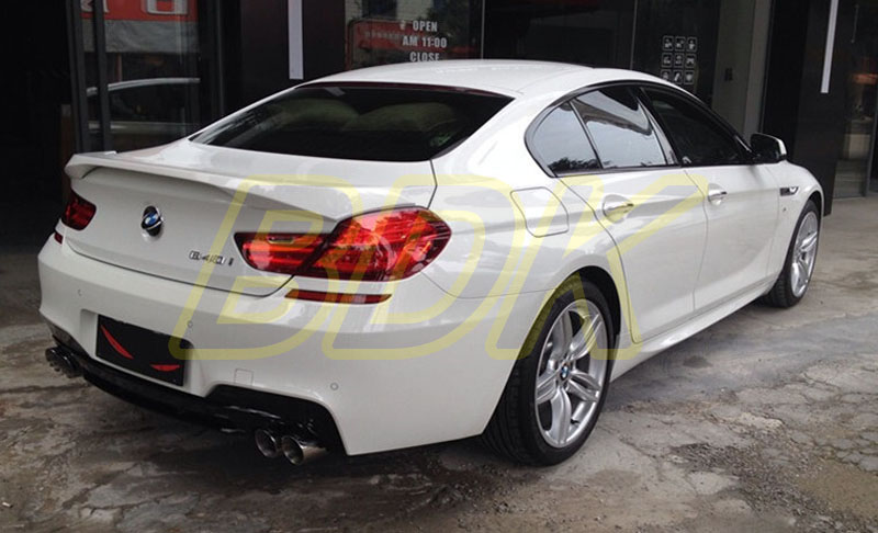 650i Rear Lip 640i Diffuser F06 Bumper F12 F13 Carbon Fiber Back Spoiler For BMW 6 Series M Tech Only In Bumpers From Automobiles