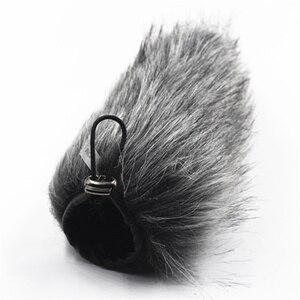 Image 5 - Pour RODE VIDEOMIC GO vidéo enregistrement vocal stylo extérieur Microphone vent couverture Furry pare brise pare brise accessoires