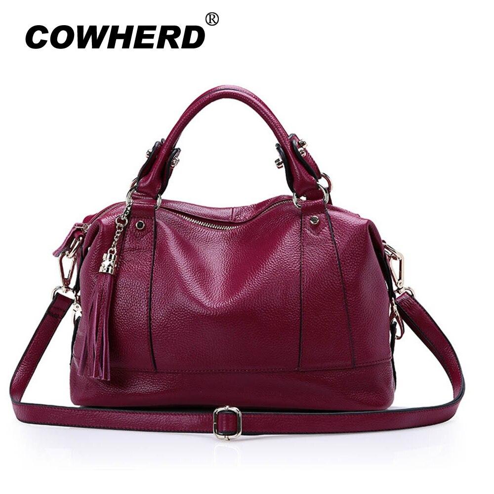 2018 New Women Hobo Tote Bag Bolsas Fashion 100% First Layer Soft Genuine Leather Handbag Messenger Crossbody Bag, Big Capacity 11cls bolsas fashion 100