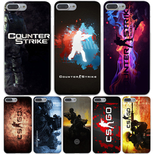 cs go Hard Transparent Cover Case for iPhone 7 7 Plus 6 6S Plus 5 5S SE 5C 4 4S