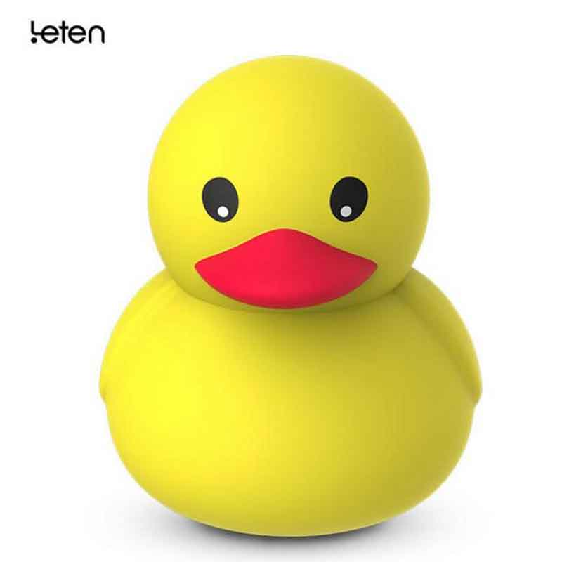 Leten Dual Powerful Motors DUDU Cute Duck 10 Mode Vibrating Massager,Usb Charge,Waterproof,Sex toy Product for women,Pretty Gift pretty love sex product for woman body pliers 12 speed dual motors 100