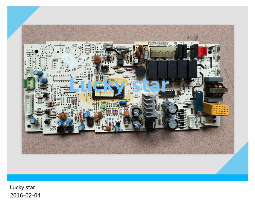 98% new for Gree Air conditioning computer board circuit board 6051L 30036033 GRJ60-A good working все цены