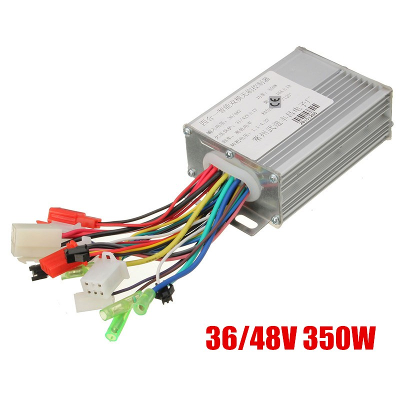 цена на 350W 36V/48V DC 6 MOFSET Brushless Controller, E-bike / E-scooter / Electric Bicycle Speed Controller (simple)