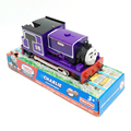 T0185 Charlie Electric Thomas and friend Trackmaster engine Motorized train wtih Compartments Chinldren child kids plastic toys
