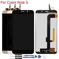 Original Display For Cubot Note S LCD Display Touch Screen Digitizer Assembly Cubot Note S 5.5 Screen Replacement Parts