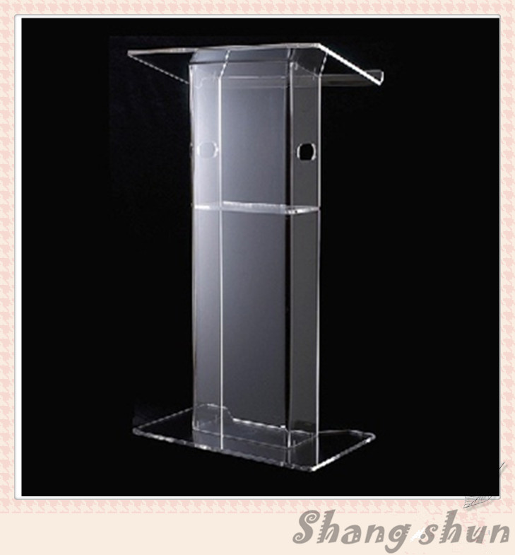 Acrylic Podium Church Pulpit  Perspex Church Podium Pulpit Clear Acrylic Lectern hot sale fre shiping customized acrylic church lectern pulpit lectern podium cheap church podium