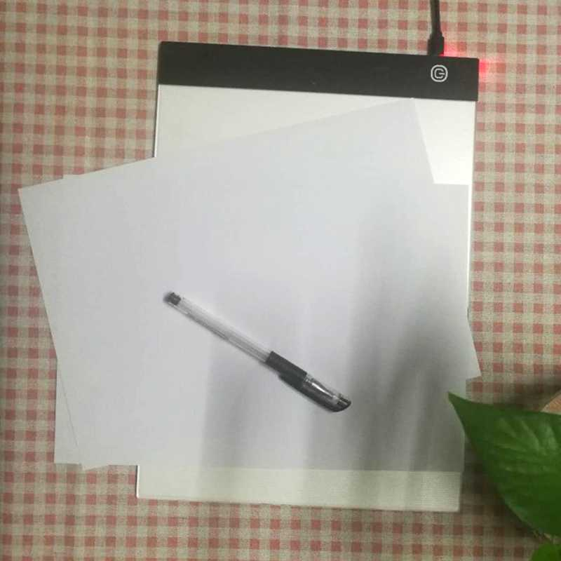 Grafica Digitale Tablet A4 Led Artista Sottile Art Stencil Disegno Bordo Light Box Tracing Tablet Pad