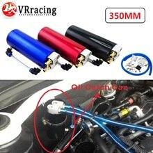 VR RACING-Универсальный алюминиевый масляный бак 350 мл для гонок/круглый резервуар для банок турбо маслоуловитель/может ловить VR-TK62